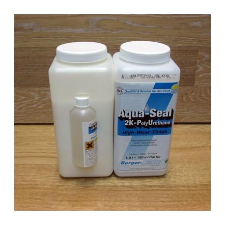 2-компонентный полиуретановый лак на водной основе Berger Aqua-Seal 2K-PU